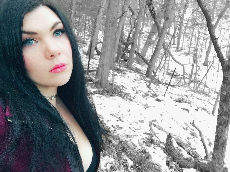Raina in the woods